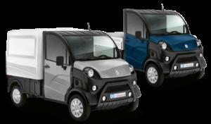 Aixam Pro D Truck mit Pritsche oder als Van