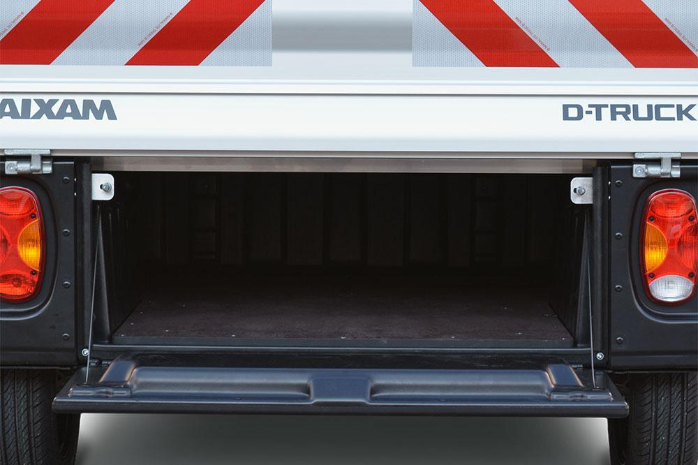 Aixam D-truck pritsche mit stauraum